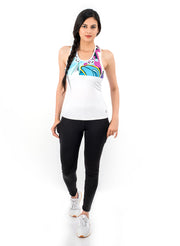 Stretchy Graffiti Tank Top - TRUEREVO