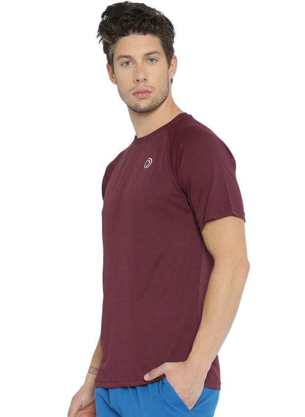 Ultra Light Running & Sports TEE- Men's Maroon
