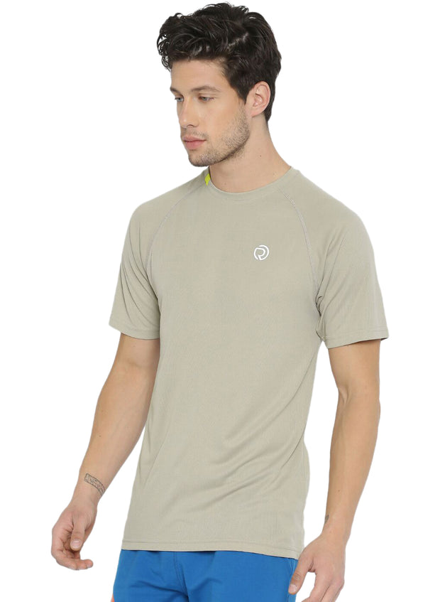 Ultra Light Dryfit Running & Training T-shirt - Men's Light Grey - TRUEREVO