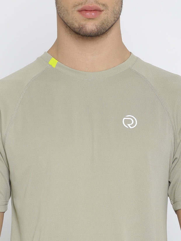 Ultra Light Running & Sports TEE- Men's Light Grey - TRUEREVO