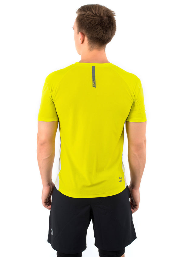 Core Technical Yoga & Training Tee - Men's Chartreause