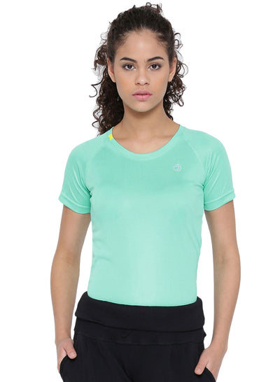 Ultra Light Running & Sports TEE- Women's Sea Green