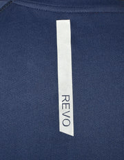Statement Training & Sports Tshirt- Printed Navy - TRUEREVO