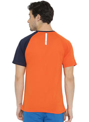 Men's Running, Sports & Active Tshirt- Orange - TRUEREVO