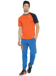 Men's Running, Sports & Active Tshirt- Orange