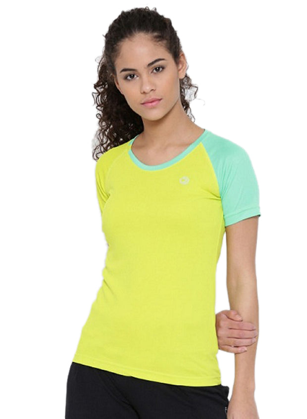 Slim Fit Ultra Light Running TEE - Women's Yellow - TRUEREVO
