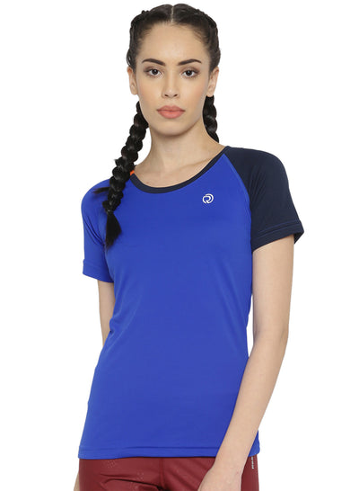 Slim Fit Ultra Light Running TEE - Women's Blue - TRUEREVO