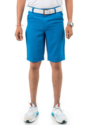 Mykonos Blue Golf Trouser Fabric