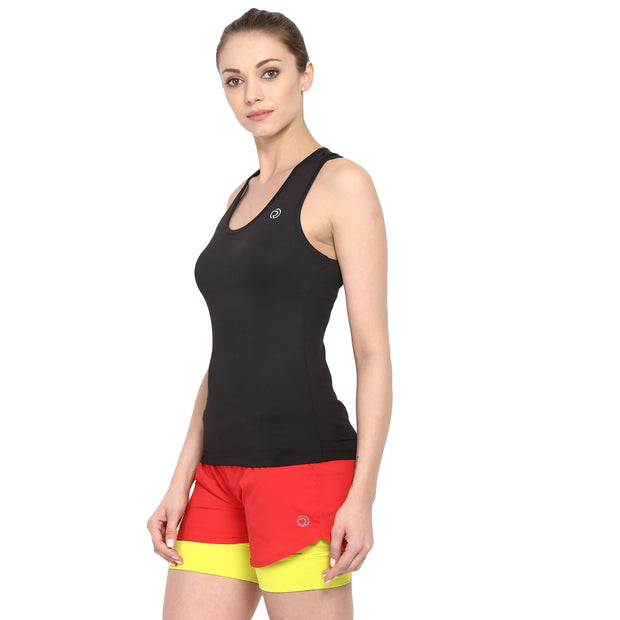 Sports & Training Active Tank Top- Women's Black - TRUEREVO