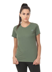 Light Dryfit Running & Sports Tshirt - Sage Green - TRUEREVO
