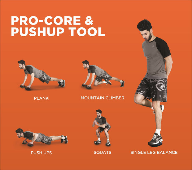 Pro Core & Push-up Tool - TRUEREVO