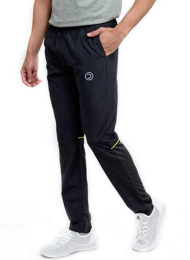Men's Sports Track Pant with zipper back pocket - Grey - TRUEREVO