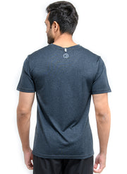 Dry Tech Light Running & Training Tshirt - Anthra Black - TRUEREVO