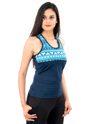 Tribal Printed Tank Top - TRUEREVO
