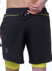 "7"" Shorts With Phone Pocket - Men's Dark Grey - TRUEREVO"