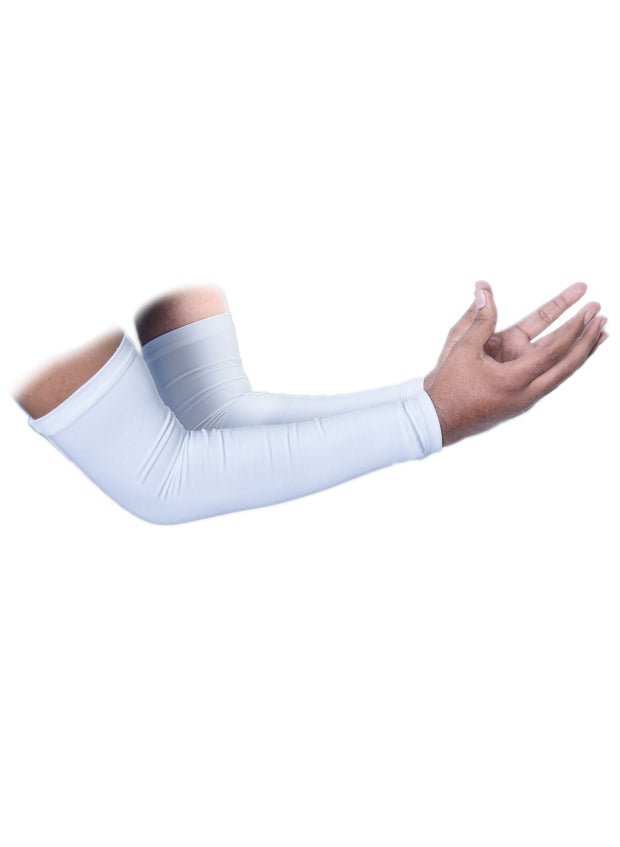 Sports Arm Sleeve - White - TRUEREVO