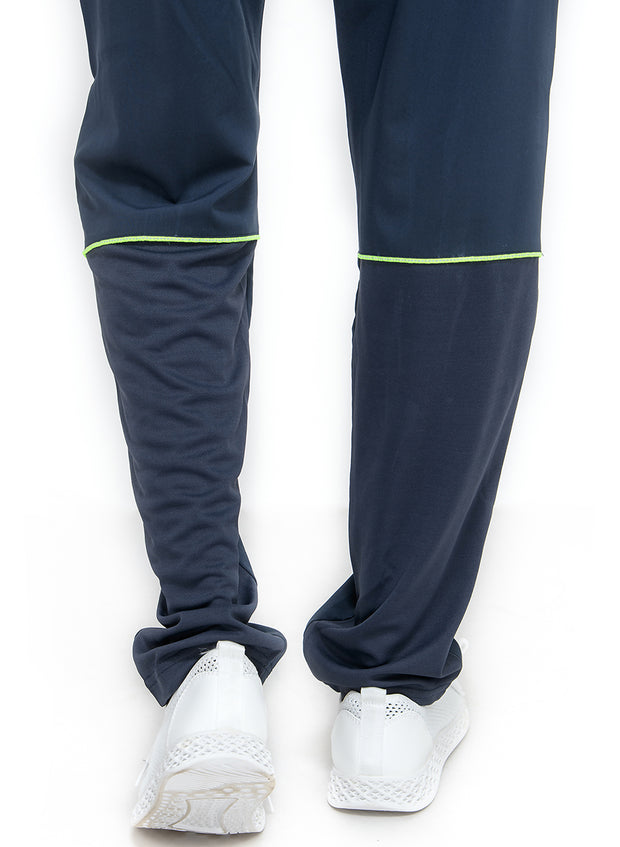 Sports Track Pant with Phone Pocket - Double Layered - NAVY - TRUEREVO