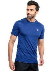 Dry Tech Light Running & Training Tshirt - Anthra Navy - TRUEREVO