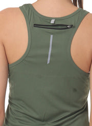 Light Dryfit Running & Sports Tank Top - SAGE Green - TRUEREVO