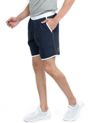 "7"" Shorts With Zipper Back Pocket""(Detachable Outer) - Navy Blue - TRUEREVO"