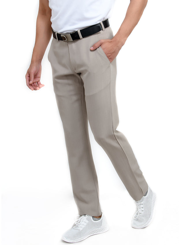 Pro Performance Stretch Golf Pant - Men's Light Grey - TRUEREVO