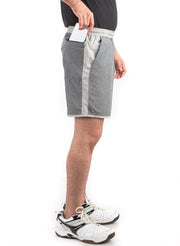 "7"" Detachable Shorts Combo with Phone Pocket - Anthra Grey"