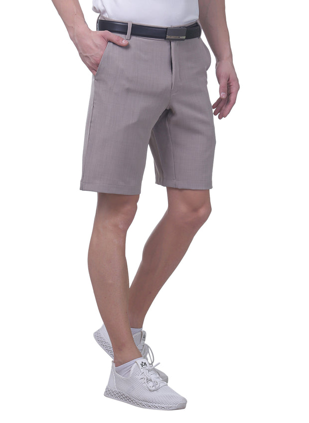 Pro Performance Stretch Golf Shorts - Men's Light Grey - TRUEREVO