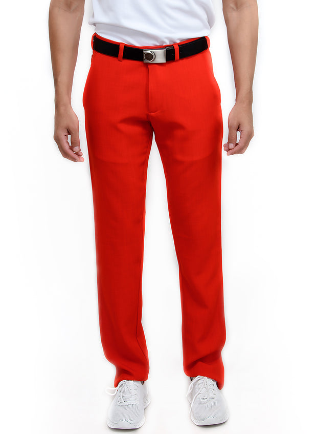 Pro Performance Stretch Golf Pant - Men's Red - TRUEREVO