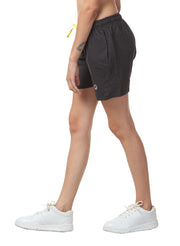 "WOMEN'S   TRAINING 5"" SHORTS - Black - TRUEREVO"
