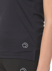 Light Dryfit Running & Sports Tank Top - Black - TRUEREVO