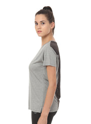 Ultra Breathable Dryfit Sports Tshirt with Mesh Back - Anthra Grey - TRUEREVO