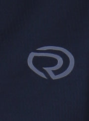 WOMEN'S   RUNNING FULL SLEEVE ZIP T-SHIRT - Navy - TRUEREVO