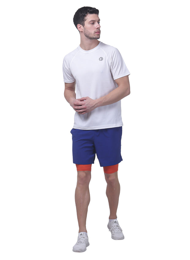 "7"" Shorts With Phone Pocket - Men's Mykonos Blue - TRUEREVO"