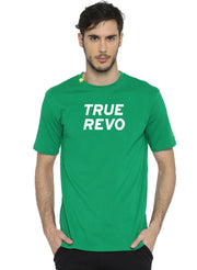 Active Comfy Stretch Cotton Yoga Tshirt - Men's Green TRUEREVO - TRUEREVO