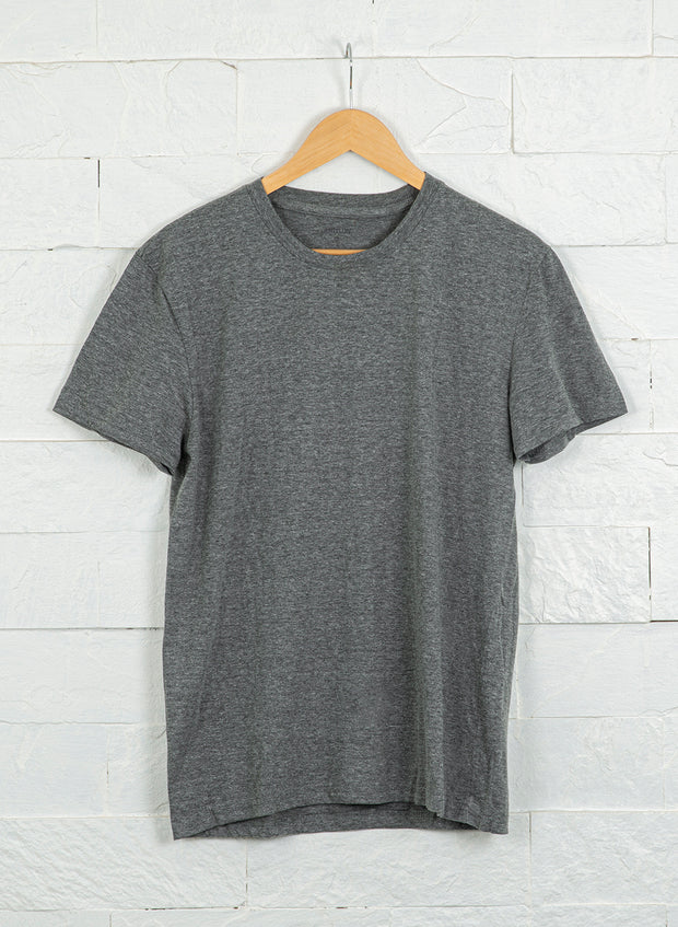 Men's Premium Cotton Tshirts (Pack of 2- Grey,Grey) - NITLON * TRUEREVO