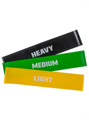 Mini Resistance Bands (Pack of 3)