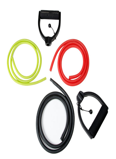 Changeable Resistance Tube Set (With 3 Tube Strengths) - TRUEREVO