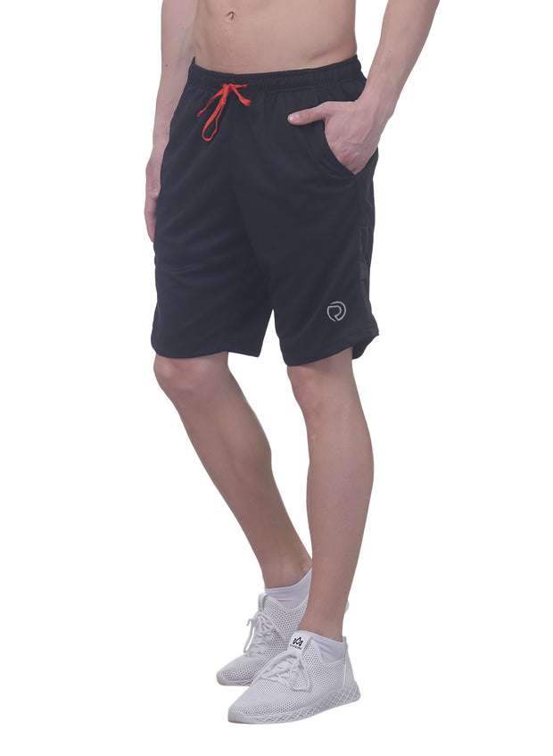 "Men's 10"" Dryfit Flexible multipurpose shorts- Black - TRUEREVO"