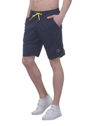 "Men's 10"" Dryfit Flexible multipurpose shorts- Navy - TRUEREVO"