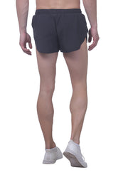 Professional Running Shorts with inner brief & key pocket - Coal - TRUEREVO