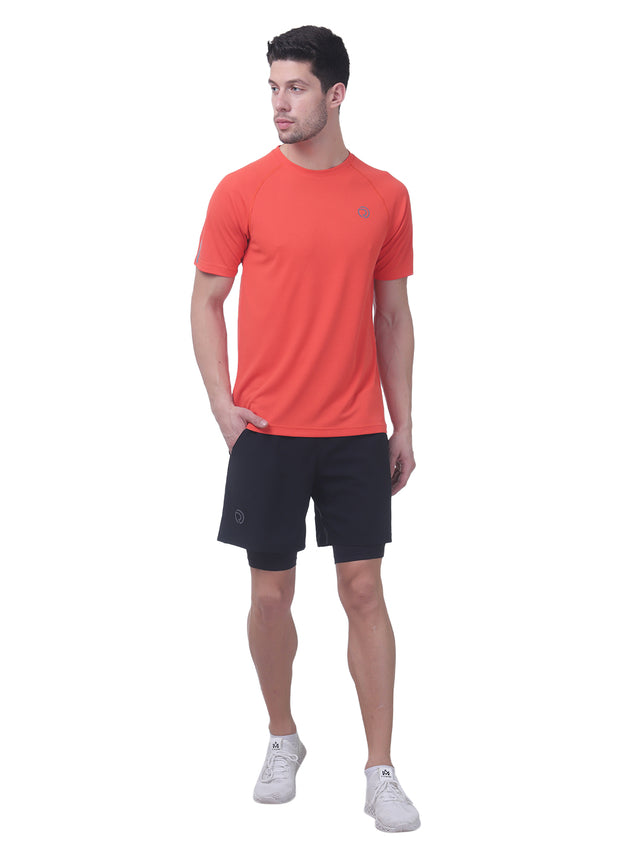 Ultra Light Dryfit Running & Training T-shirt - Men's Red - TRUEREVO
