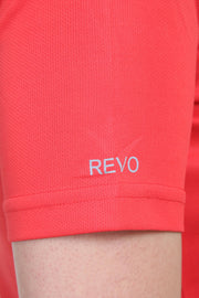 Slim Fit Ultra Light Running TEE - Women's Red Peach - TRUEREVO