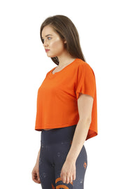 The Flowy Crop Top - Slim Fit - TRUEREVO