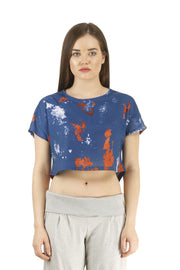 The Flowy Crop Top- Slim Fit - TRUEREVO