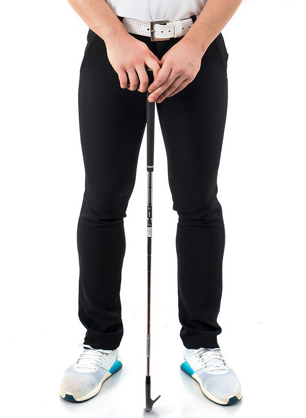 Black Golf Trouser Fabric