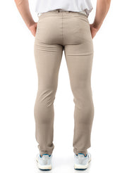 Light Grey Golf Trouser Fabric