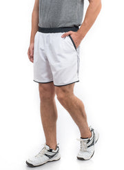 "7"" Detachable Shorts Combo with Phone Pocket - White - TRUEREVO"