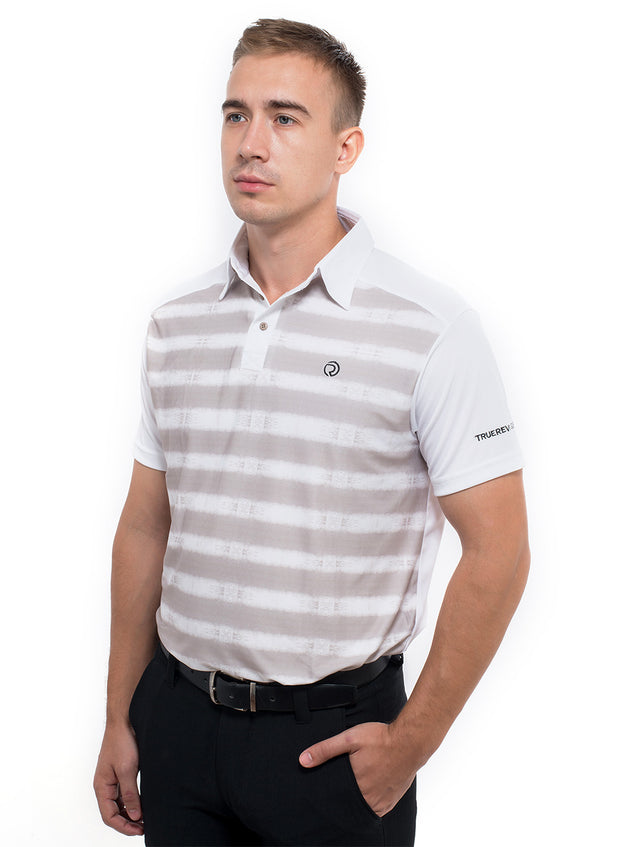 Men's Stretchy Golf T-shirt With Collar - TRUEREVO