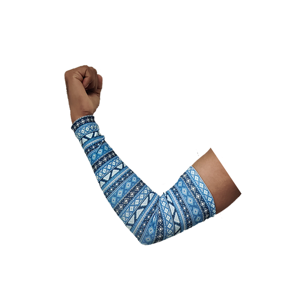 Sports Arm Sleeve (Pack Of 2) Trible Print