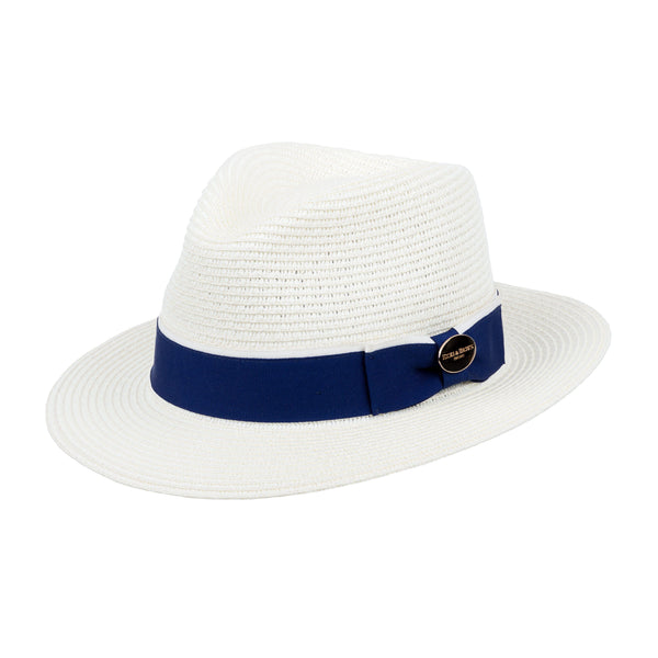 Hicks & Brown Fedora The Orford Fedora (Mid Blue Ribbon)
